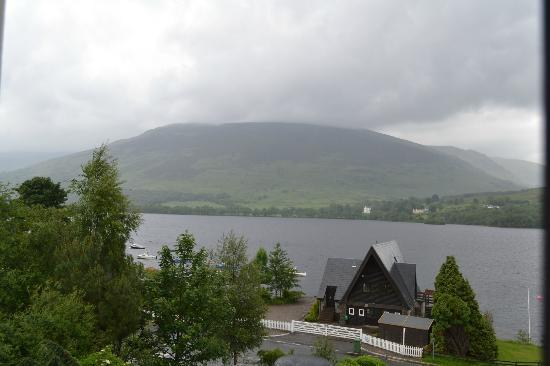 The Lochearnhead Hotel: view from my room