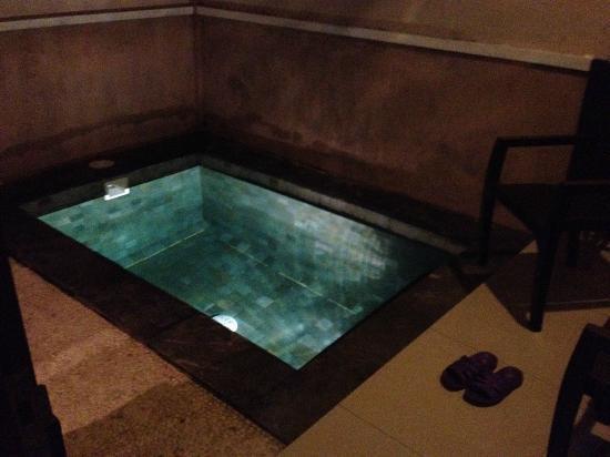 Black Penny Villas: pool in the private territory