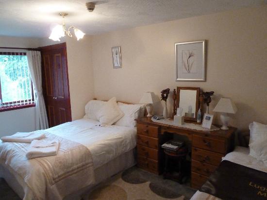 Acorn Guest House: 3-Bett Zimmer
