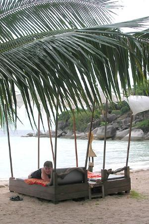 Koh Tao Cabana : relax at the beach