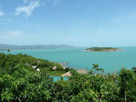Six Senses Samui: View from breakfast area