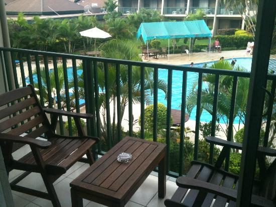 Tanoa Waterfront Hotel: View from the Executive Room