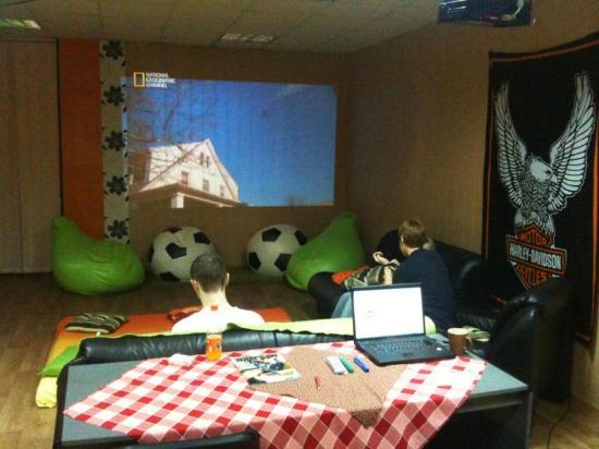 Smart Hostel: Social Area