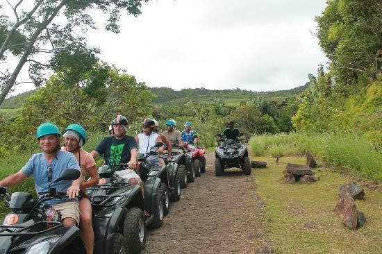 Chemin Grenier: Quad biking in groups