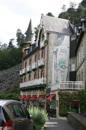 Le Roc au Chien: Side view