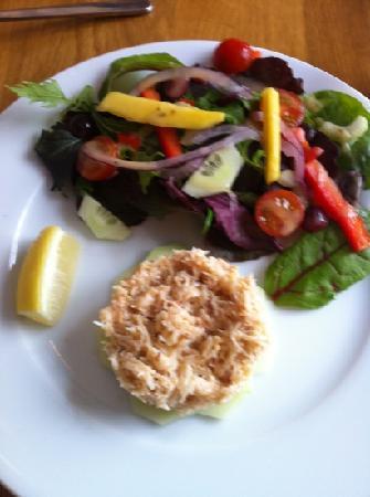 Squid Ink: Crab salad