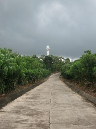 Cape Bolinao Lighthouse: Bolinao Lighthouse