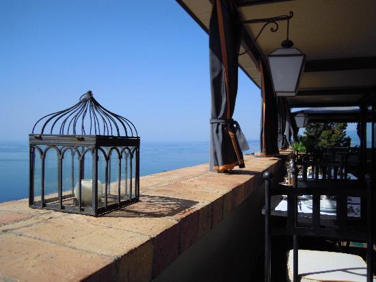Hotel Villa Carlotta: terrazza