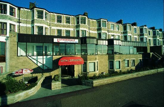 Morecambe, UK: Front of the Hotel