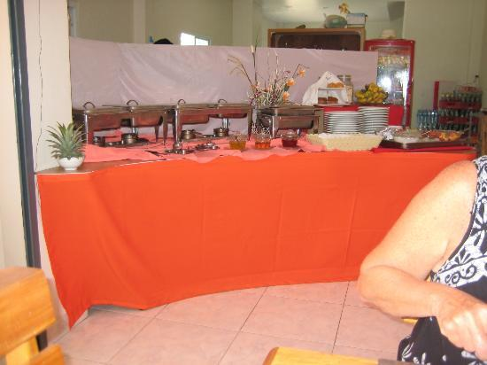 Tiffany Restaurant and Coffee Shop : Buffet Breakfast