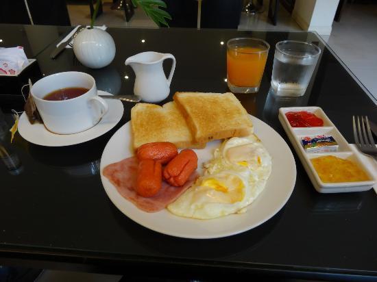 Portico 21: 早餐