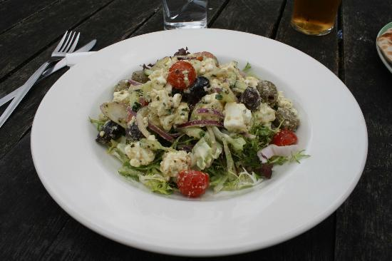 Vats Bar: Greek Main Salad (£5.95)