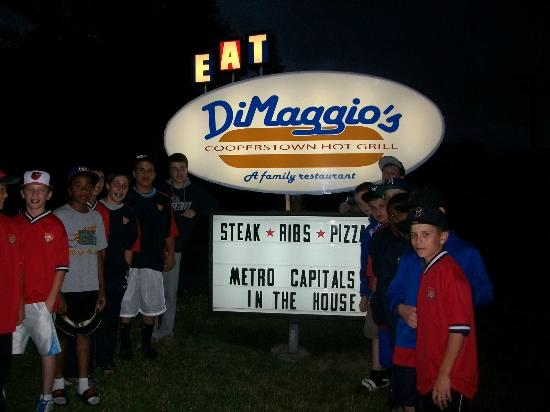 Photo of American Restaurant DiMaggio's at 4561 State Highway 28, Cooperstown, NY 13326, United States