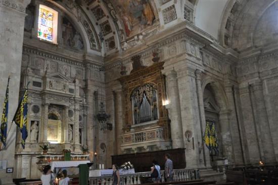 Tempio di San Biagio: ...am Altar .....
