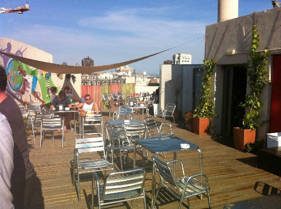 Equity Point Centric Hostel: Roof Top Terrace Bar
