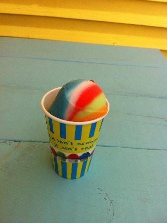 Sunset Slush - Classic Italian Ice: Zombie Slush !