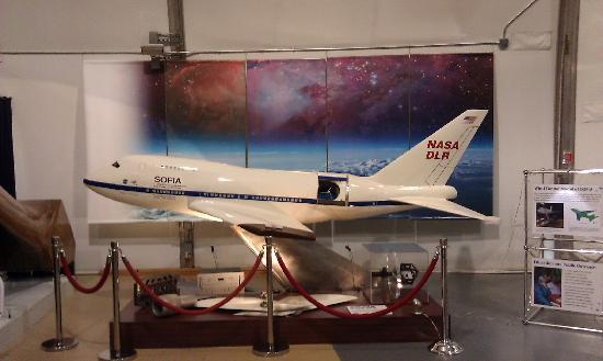 NASA Ames Visitor Center: SOFIA model