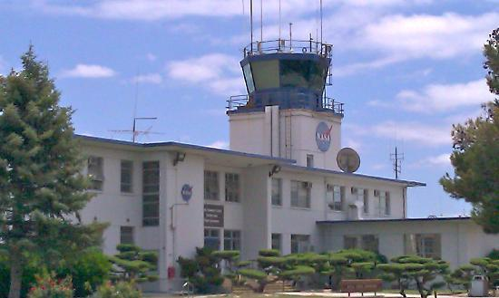 NASA Ames Visitor Center : the control tower