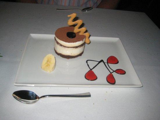 Belcekis Hotel Restaurant: Tiramisu