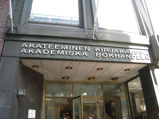Academic Bookstore (Akateeminen Kirjakauppa): 外観