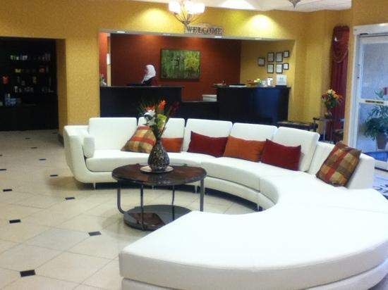 Homewood Suites Tulsa - South: Lobby, Front Desk 2012