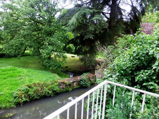 Le Moulin du Mesnil : Le jardin