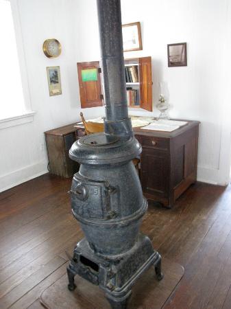 1879 Hooper Strait Lighthouse: Inside the lighthouse