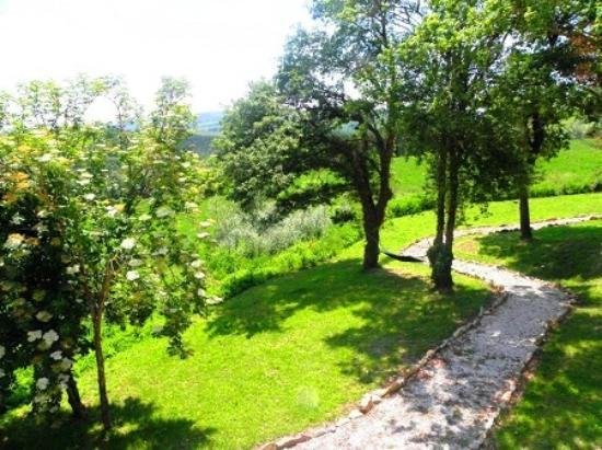 Agriturismo B&B Abadia Farneto: Abadia Farneto leven een echt ontspannen vakantie in de natuur en oude steden in Umbrië Gubbio