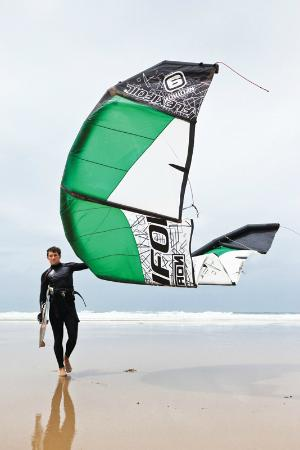 Extreme Academy: Josh Coombes one of our kitesurfing instructors is a Felxifoil team rider
