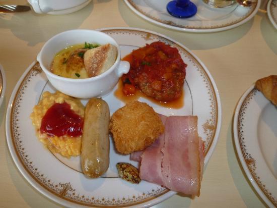 Tokyo DisneySea Hotel MiraCosta : ベッラ・ヴィスタラウンジでの朝食2