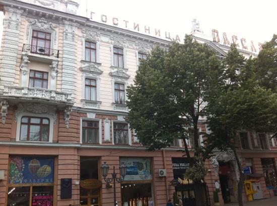 Passage : view from Deribasovskaya street