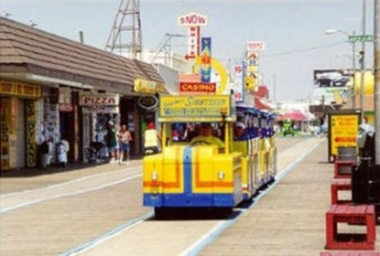 North Wildwood, Нью-Джерси: tram car