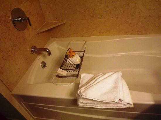 The Paramount Hotel: Even a duckie! Bathroom has separate shower.
