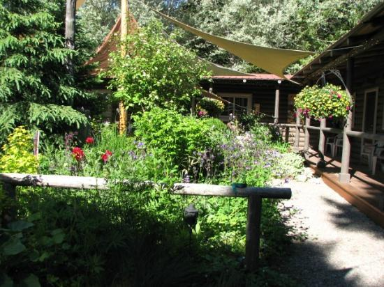 Laughing Horse Lodge: The Garden