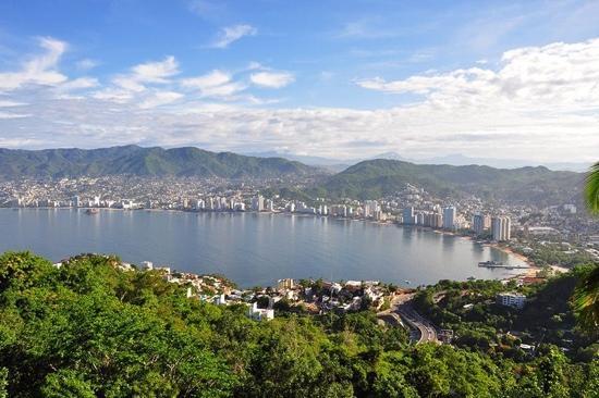 Las Brisas Acapulco: vista desde el restaurante Tilipán del Hotel Las Brisas