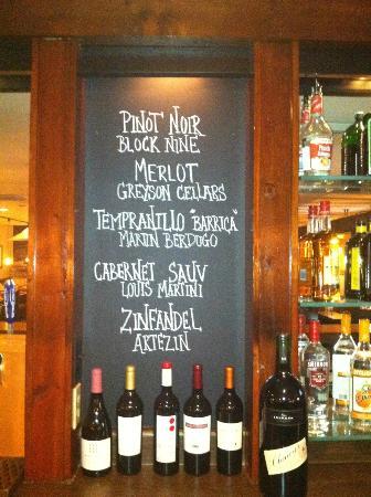 Sophie's Steakhouse : Wine