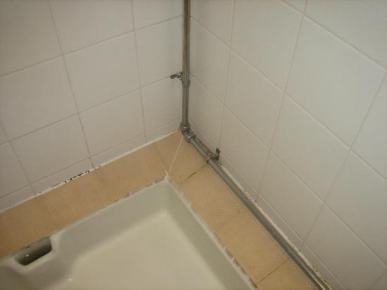 Mercure Bradford, Bankfield Hotel: shower mould