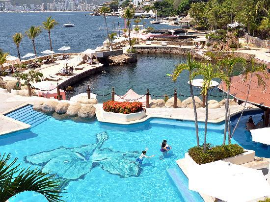 Las Brisas Acapulco: Club de playa La Concha del Hotel Las Brisas, sensasional