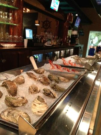 Thirsty Perch Grill: New Raw Bar Open Daily @ 4pm