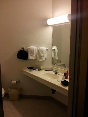 Motel 6 Benson : Bathroom