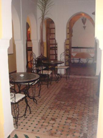 Riad Nerja court yard
