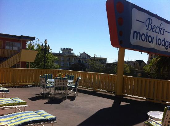 Beck's Motor Lodge: Just another gorgeous day in San Francisco!