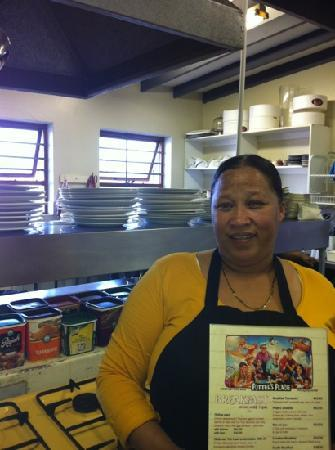 Potter's Place: The chef @Potters Asmaralda !