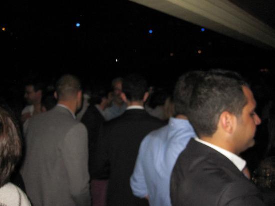 Luz de Gas: good crowd