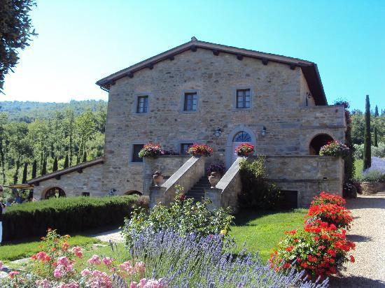 Casa Portagioia: Struttura principale con zona ristorante