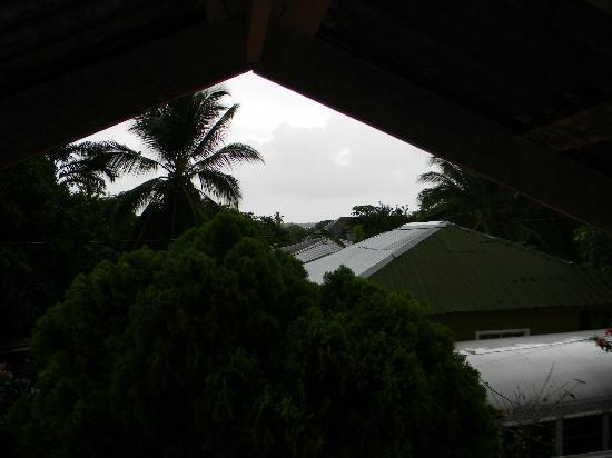 Hotelito Casa Blanca: stormy view