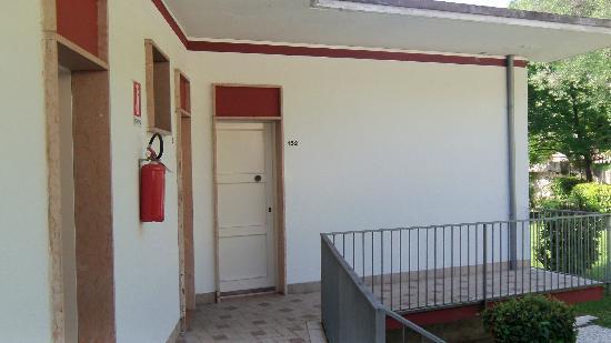 Hotel San Giorgio: vue sur un bungalow