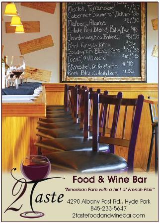 2 Taste Food and Wine Bar: Chefs Bar