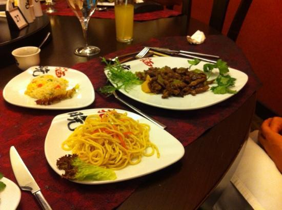 Grand Hotel Artside: Ala Carte Chinese