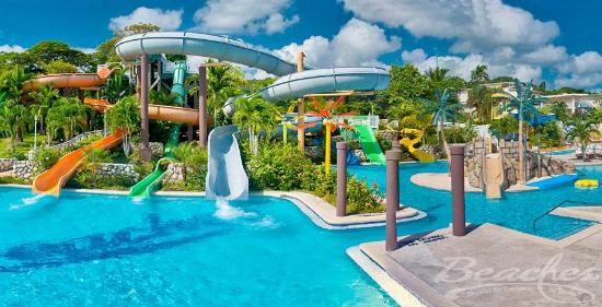 Beaches Ocho Rios Resort & Golf Club: Waterpark at Beaches Boscobel Resort & Golf Club